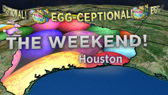 'Egg-ceptional' weather expected for Easter weekend