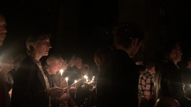 Easter vigil held in Paris