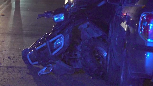 Three Teens Hurt in ATV Crash