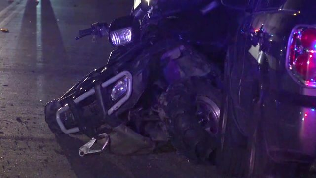 3 teens hospitalized after ATV crash in central Harris County