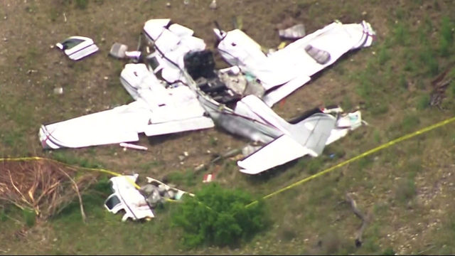 6 killed when plane that left West Houston crashes in Kerrville