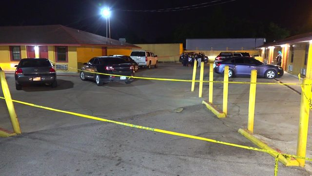 Man killed at motel