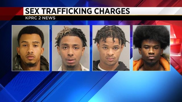 4 men accused of sexually assaulting, drugging teen runaway in Harris County