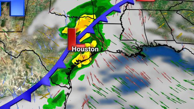 Showers possible Tuesday ahead of stormy Wednesday night