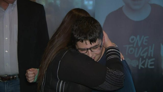 Houston boy meets bone marrow donor, all the way from Israel