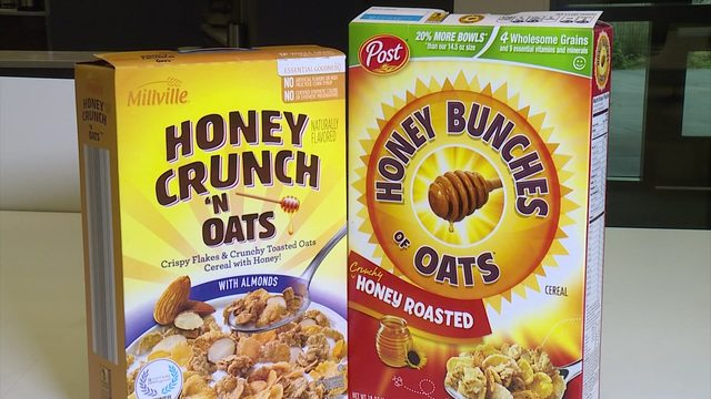 How does store brand cereal compare to brand name boxes?