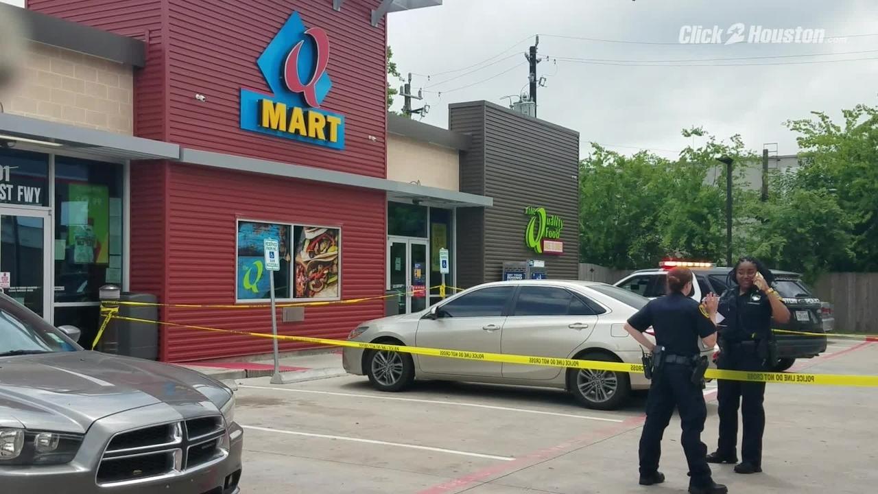 Near Gas Station >> Child Shot At Least Once Near Gas Station Near Southwest Freeway