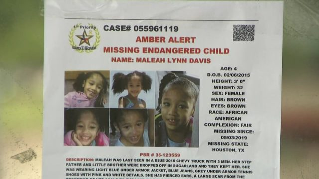 Reward in Maleah Davis case increased to $20,000