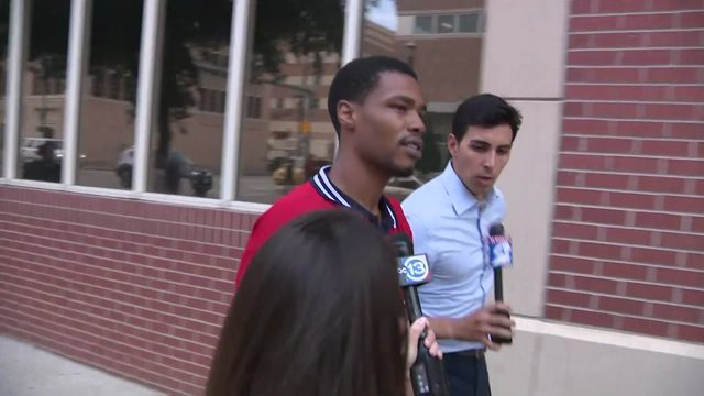 'He's innocent': Brother of Derion Vence speaks to brother at jail
