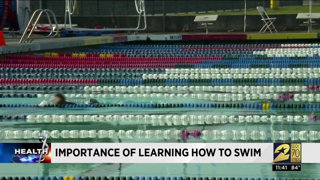 YMCA talks about the importance of learning how to swim