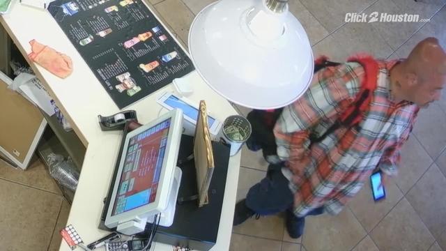 Thief steals tip jar surveillance video