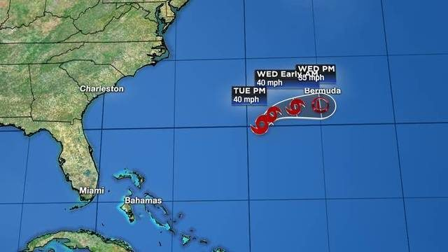 Subtropical Storm Andrea Maintaining A Northward Motion Over The Western&hellip&#x3b;