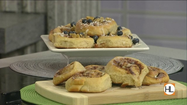 Homemade vegan cinnamon rolls| HOUSTON LIFE | KPRC 2
