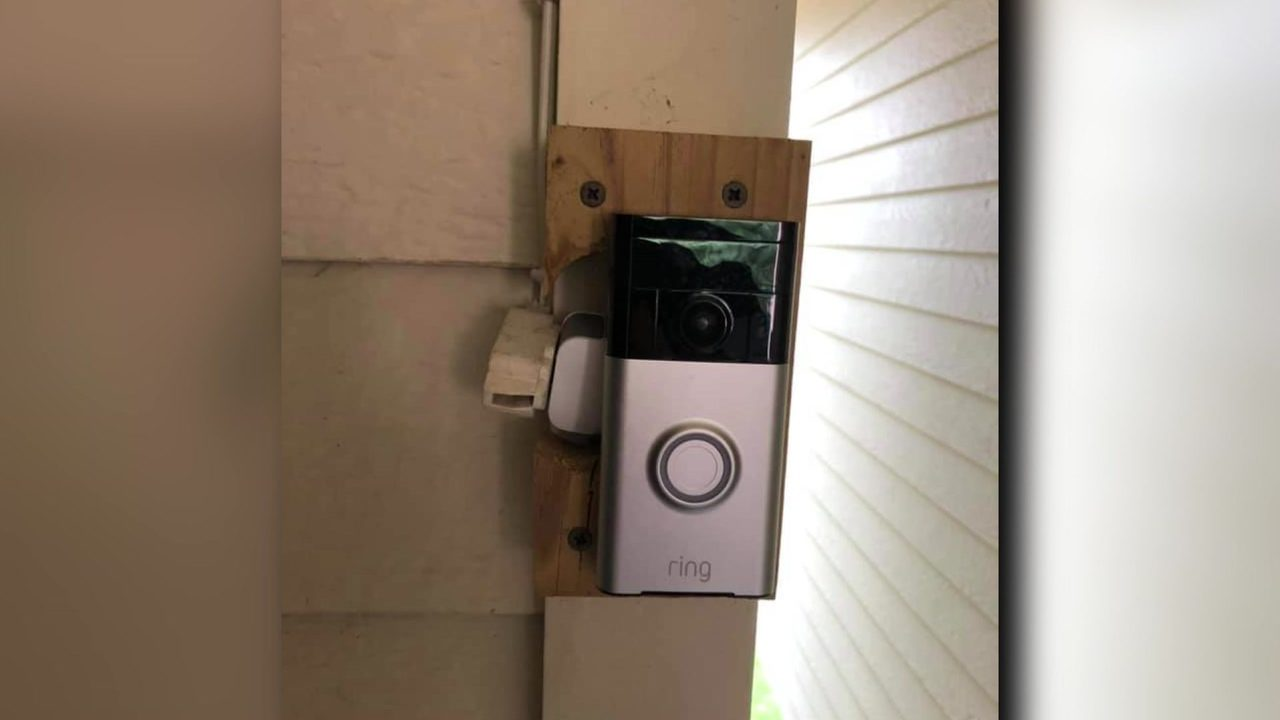 Management Forces Man To Remove Ring Doorbell Camera From