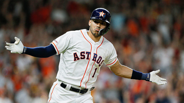 Correa's RBI single in 9th gives Astros 4-3 win over Boston