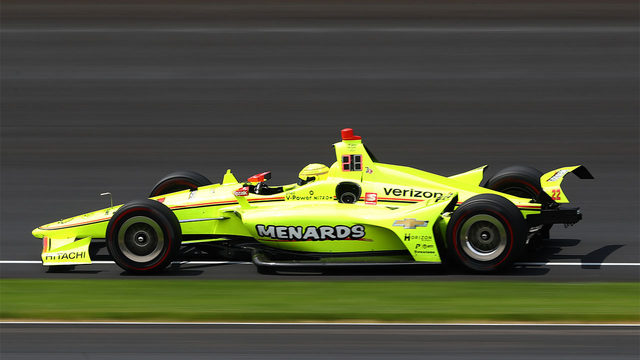 Simon Pagenaud wins his first Indy 500