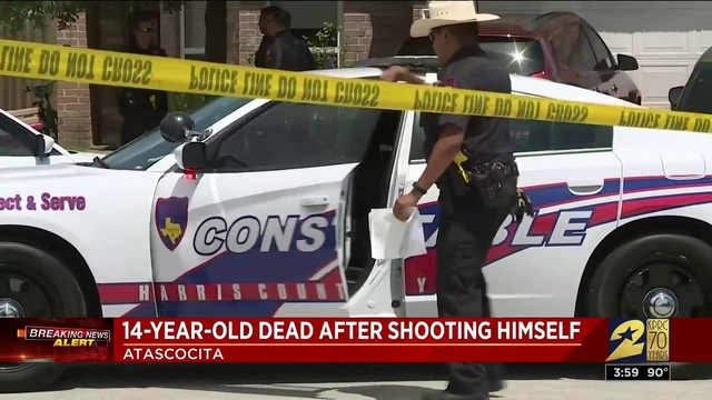 14-year-old dead after shooting himself