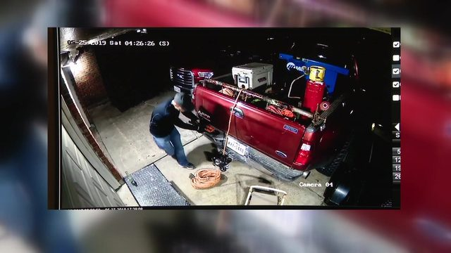 Thieves steal $10,000 worth of equipment, tools from residents in…