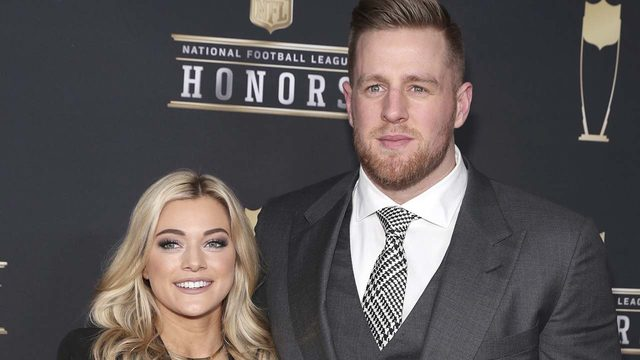 She said yes! JJ Watt and Kealia Ohai are engaged