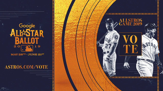 Rock the vote to get your Houston Astros in MLB All-Star Game in Cleveland