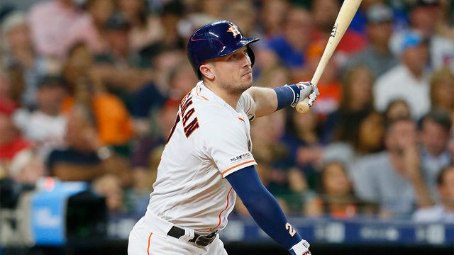 Bregman homers twice as Astros rally past Cubs 9-6