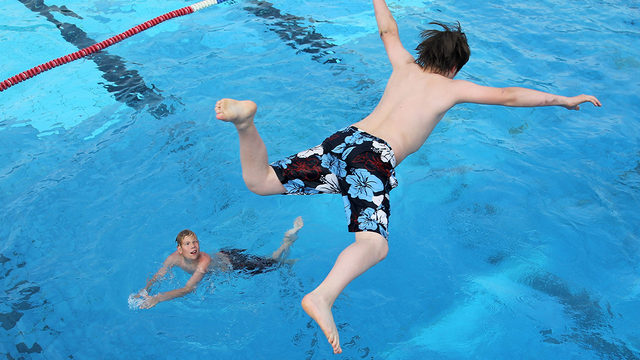 Free Swim Safety event for children on June 8