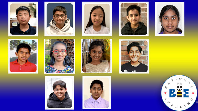 Meet the Houston-area kids competing in the National Spelling Bee
