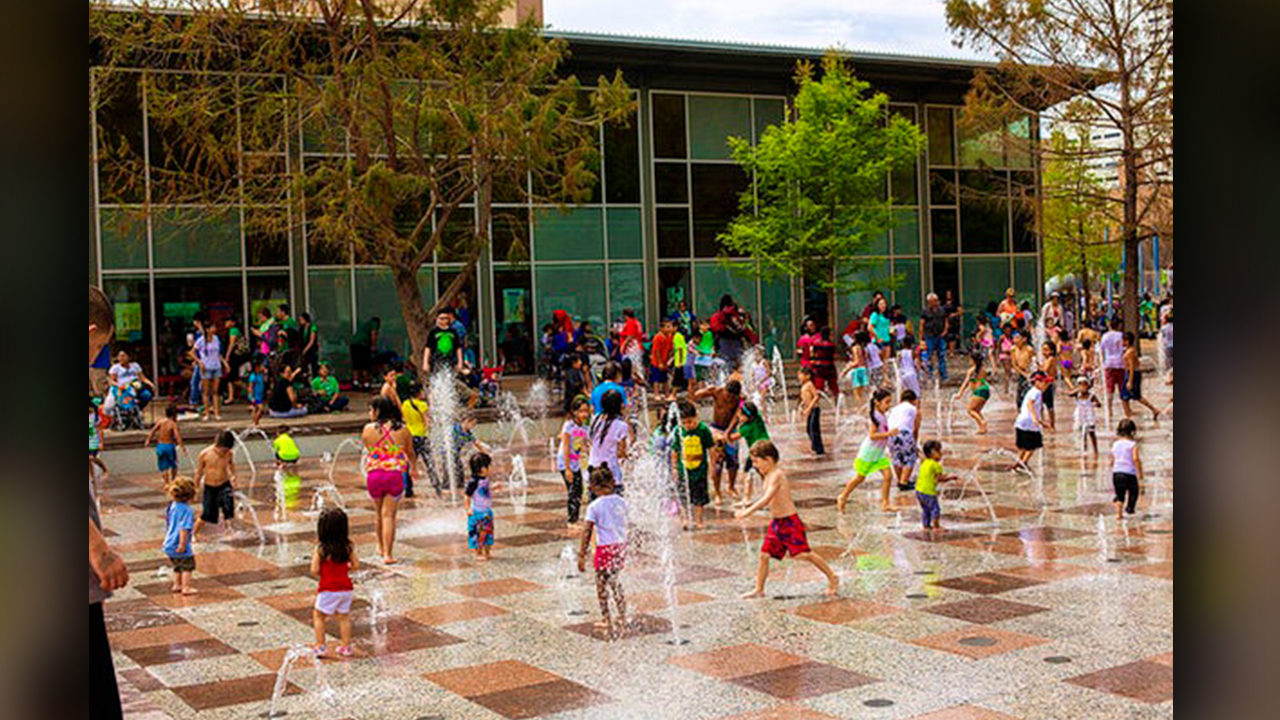 Here are our favorite splash pads in the Houston area