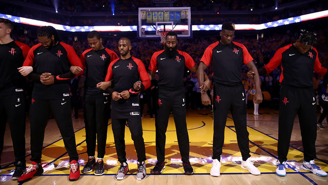 Is the Rockets' entire roster available via trade?