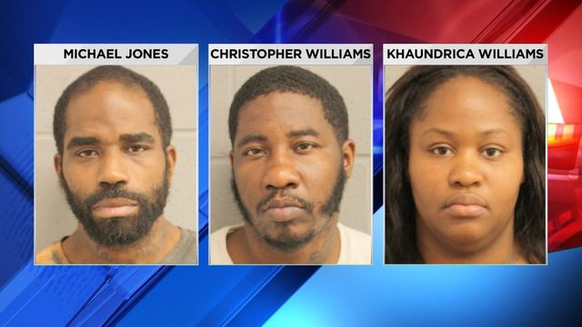 Trio accused of shoplifting and assault