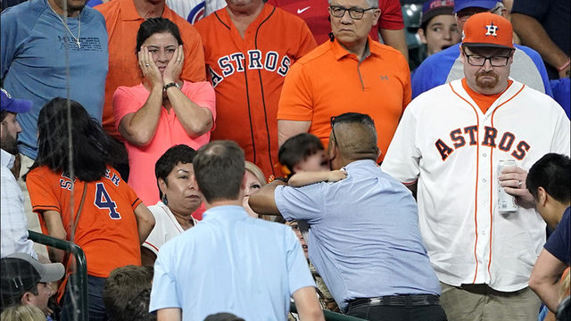What Astros are saying about girl injured by foul ball
