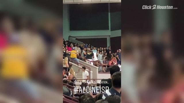 Fight at Aldine High School graduation