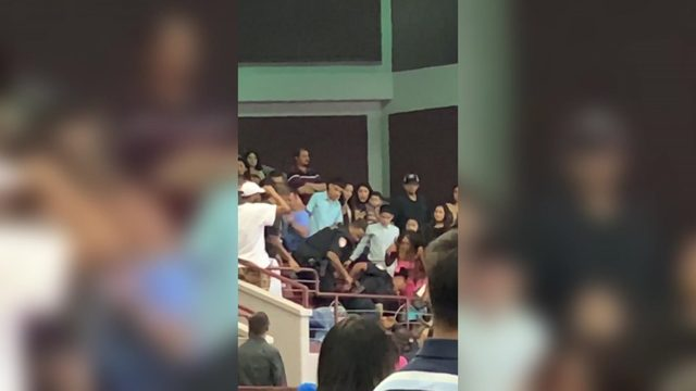 VIDEO: Brawl breaks out during Aldine High School graduation