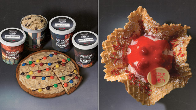These are the 'Stranger Things' sweets coming to Baskin-Robbins this summer