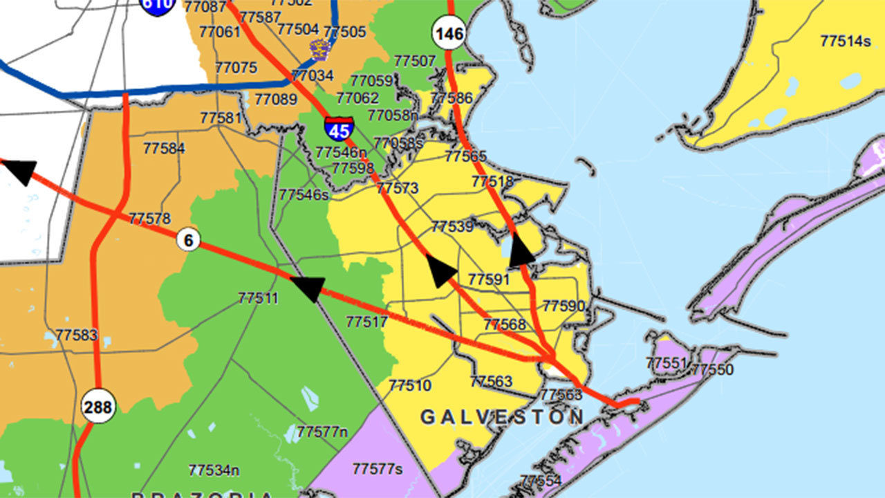 A map of the proposed expansions to Houston METRO\'s light ...