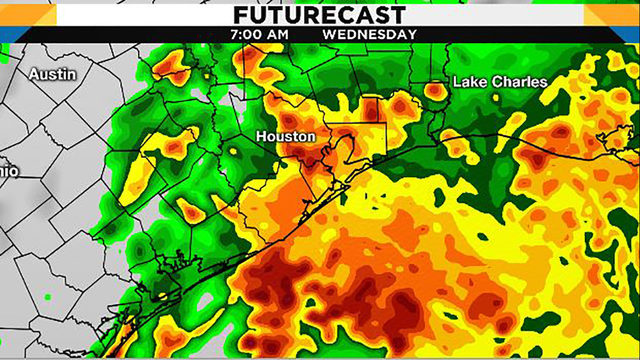Flash flood watch issued as tropical moisture moves north