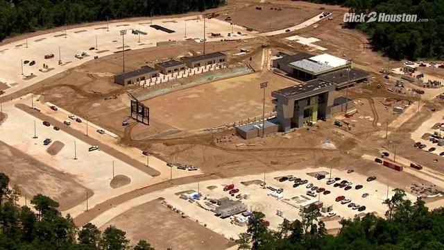 New Spring ISD football stadium won't be ready until October