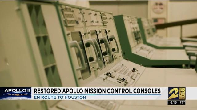 Apollo Mission Control consoles restored