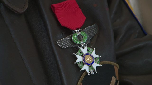D-Day ceremony on Battleship Texas: WWII veterans receive French Legion of Honor