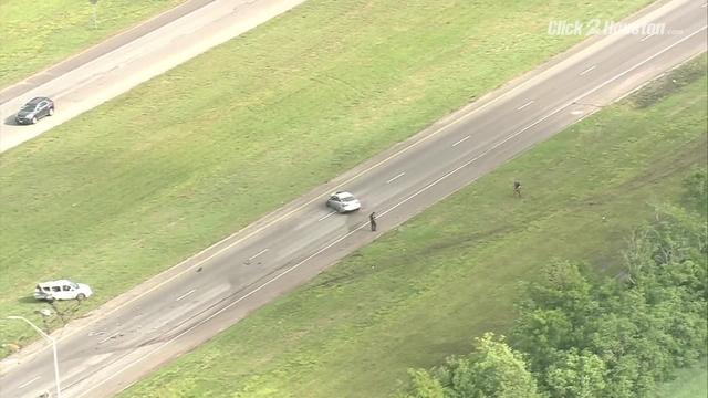 SKY2 flies scene of fatal crash on SH 288