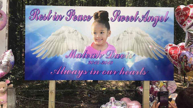 Love from another state: Hundreds wear pink, pay tribute to Maleah Davis…