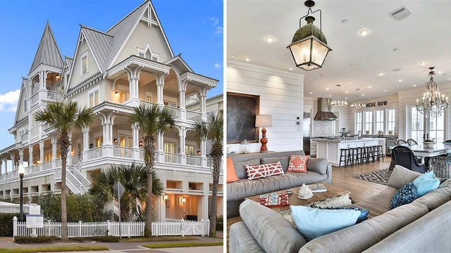 Pocket change: Nearly $4 million Galveston house for sale
