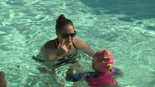 Thousands take advantage of free swim safety event across area