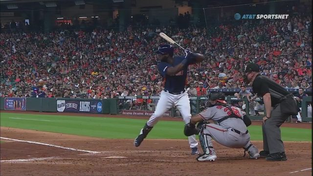 A look at new Astros star Yordan Alvarez after successful debut