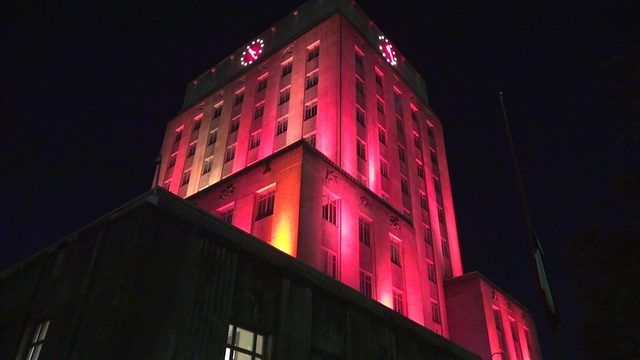 Maleah Davis Day: City Hall lit up pink to honor 4-year-old girl