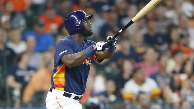 Alvarez hits 2-run HR in MLB debut as Astros blank O's 4-0