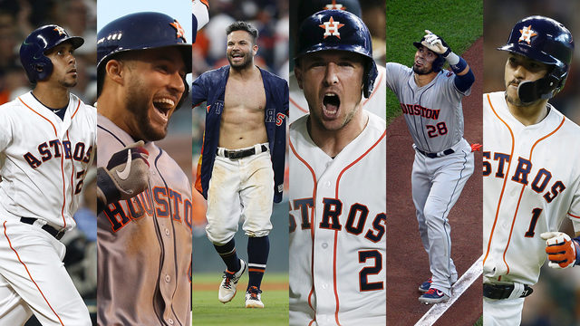 7 Astros make it to final voting phase of All-Star Game selection process