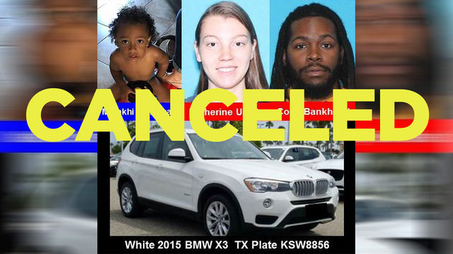 Amber Alert canceled for League City child