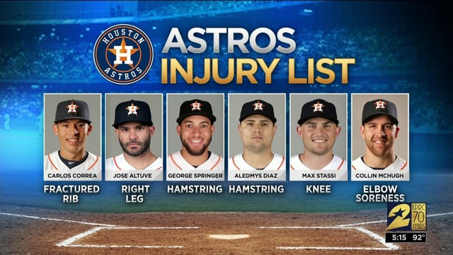 Atros injury list