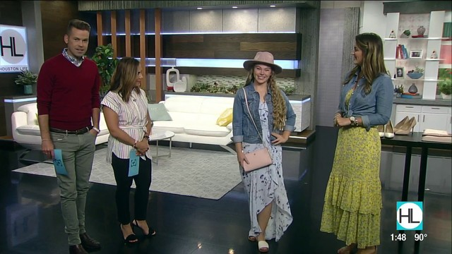 How to style a maxi dress | HOUSTON LIFE | KPRC 2